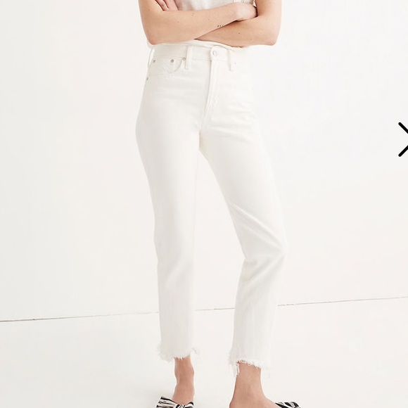 Madewell Denim - Madewell Perfect Summer Jean in White
